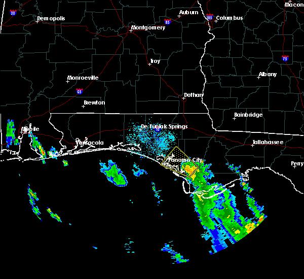 Radar Image for Severe Thunderstorms near Lynn Haven, FL at 9/1/2018 8:13 AM CDT