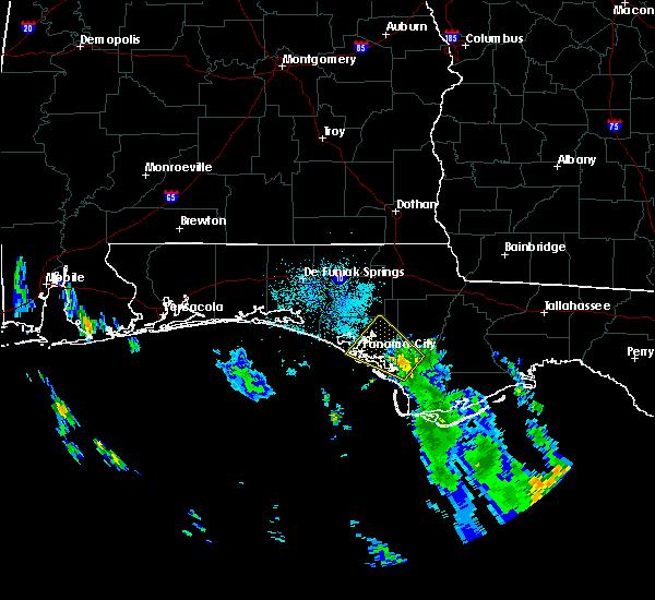 Radar Image for Severe Thunderstorms near Lynn Haven, FL at 9/1/2018 8:19 AM CDT