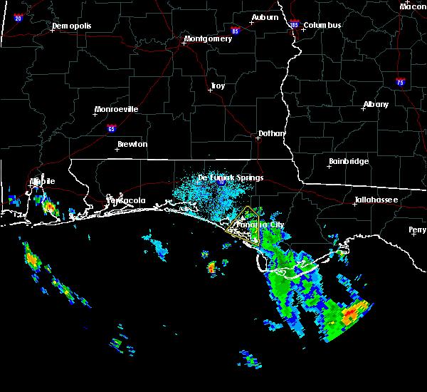 Radar Image for Severe Thunderstorms near Lynn Haven, FL at 9/1/2018 8:38 AM CDT