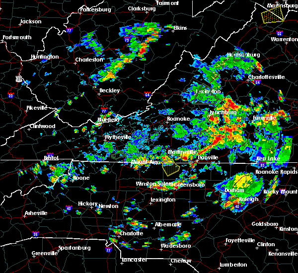 Radar Image for Severe Thunderstorms near Eden, NC at 9/1/2018 4:46 PM EDT