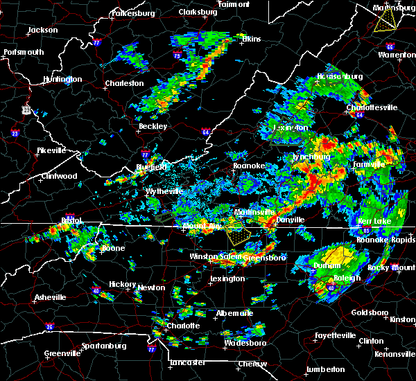 Radar Image for Severe Thunderstorms near Eden, NC at 9/1/2018 4:58 PM EDT
