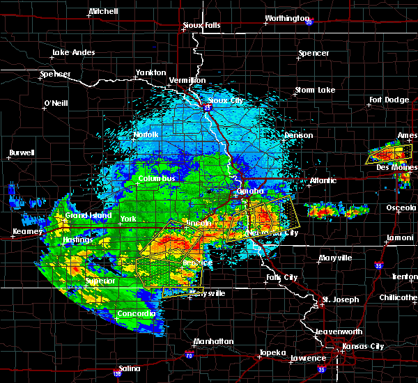 Radar Image for Severe Thunderstorms near Hallam, NE at 9/1/2018 9:16 PM CDT