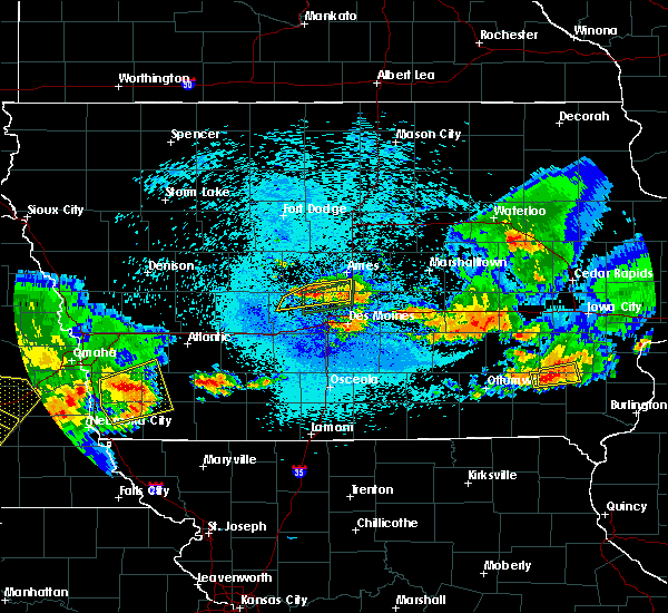 Radar Image for Severe Thunderstorms near Woodward, IA at 9/1/2018 9:24 PM CDT