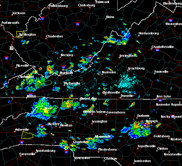 Radar Image for Severe Thunderstorms near Sparta, NC at 9/2/2018 5:26 PM EDT