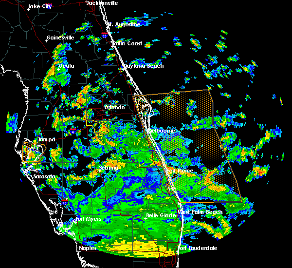 Radar Image for Severe Thunderstorms near Four Corners, FL at 9/3/2018 1:28 PM EDT
