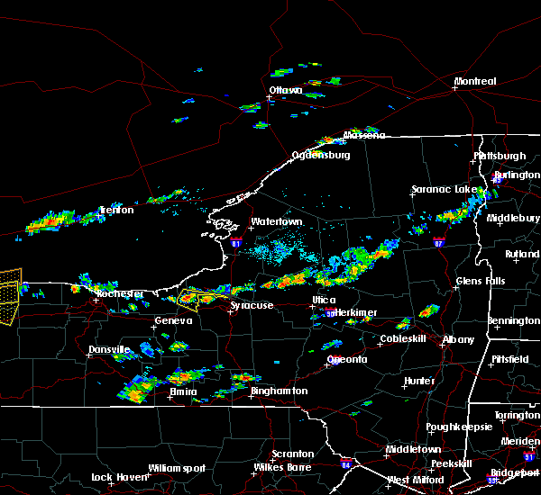 Radar Image for Severe Thunderstorms near Meridian, NY at 9/3/2018 3:00 PM EDT