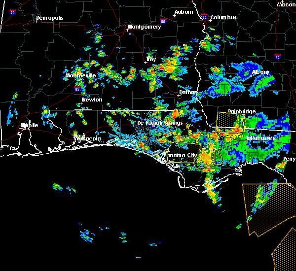 Radar Image for Severe Thunderstorms near Lynn Haven, FL at 9/3/2018 3:43 PM CDT