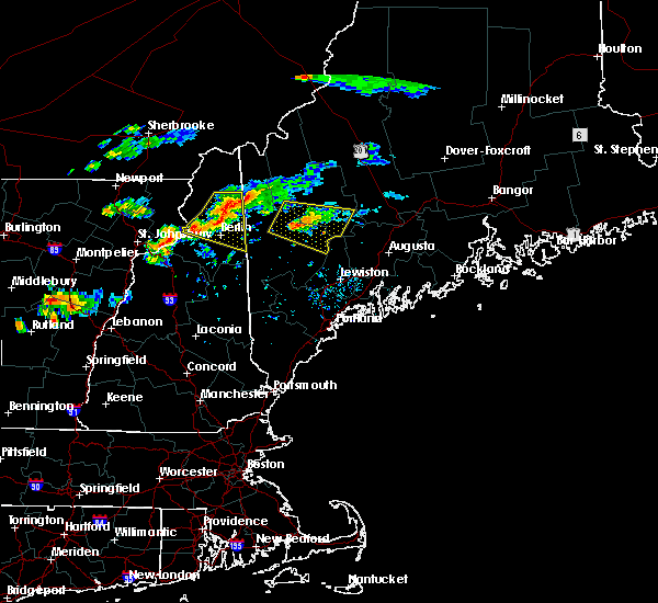 Radar Image for Severe Thunderstorms near Berlin, NH at 9/3/2018 5:20 PM EDT