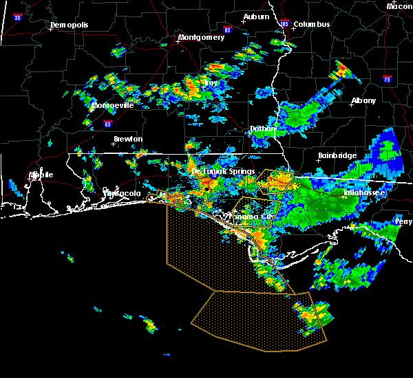 Radar Image for Severe Thunderstorms near Lynn Haven, FL at 9/3/2018 4:27 PM CDT