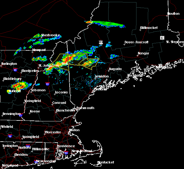 Radar Image for Severe Thunderstorms near Dixfield, ME at 9/3/2018 5:30 PM EDT