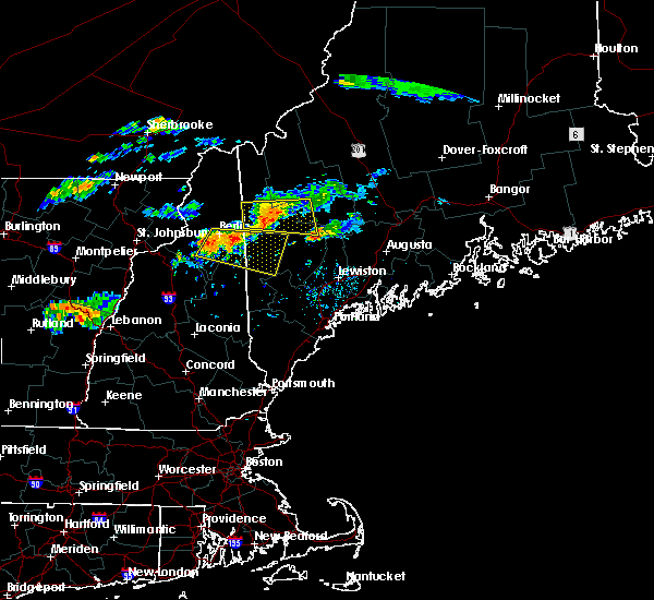 Radar Image for Severe Thunderstorms near Berlin, NH at 9/3/2018 5:55 PM EDT