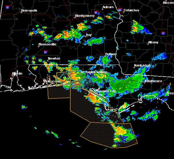 Radar Image for Severe Thunderstorms near Crestview, FL at 9/3/2018 5:04 PM CDT