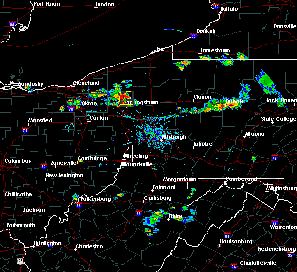 Radar Image for Severe Thunderstorms near Cortland, OH at 9/3/2018 6:22 PM EDT