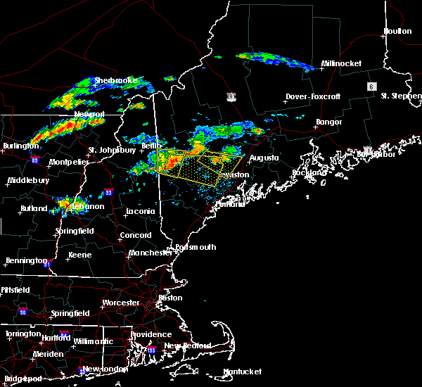 Radar Image for Severe Thunderstorms near Auburn, ME at 9/3/2018 6:26 PM EDT