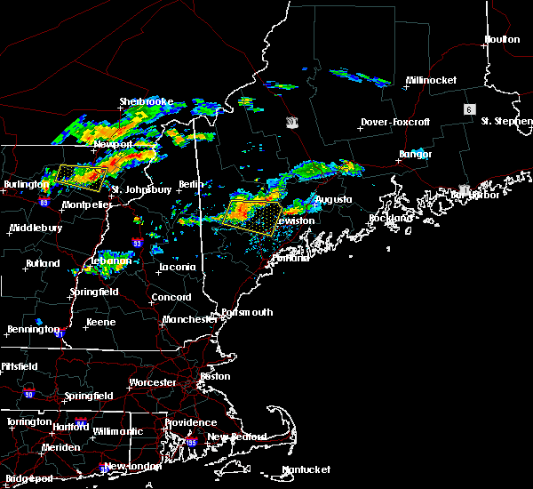Radar Image for Severe Thunderstorms near Auburn, ME at 9/3/2018 6:51 PM EDT