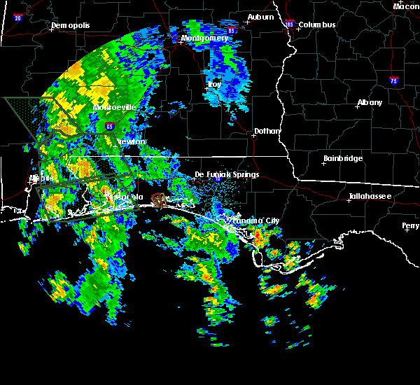 Radar Image for Severe Thunderstorms near Destin, FL at 9/5/2018 3:51 AM CDT