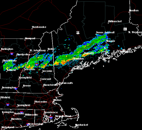 Radar Image for Severe Thunderstorms near Standish, ME at 9/6/2018 11:43 AM EDT