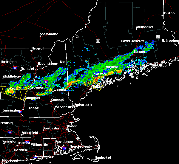 Radar Image for Severe Thunderstorms near Falmouth Foreside, ME at 9/6/2018 12:16 PM EDT