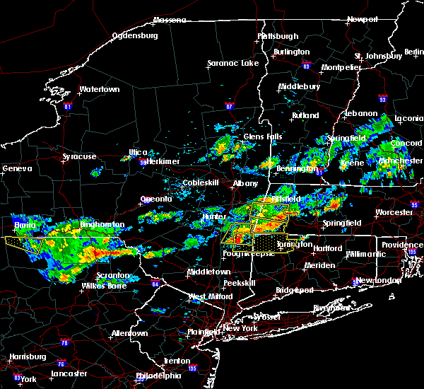 Radar Image for Severe Thunderstorms near Canaan, CT at 9/6/2018 3:01 PM EDT