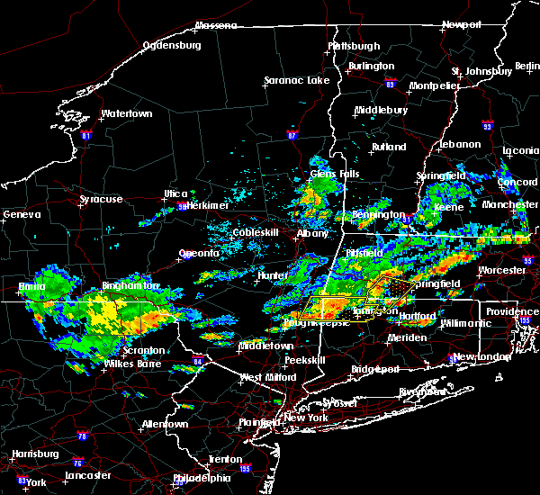 Radar Image for Severe Thunderstorms near Holyoke, MA at 9/6/2018 3:25 PM EDT