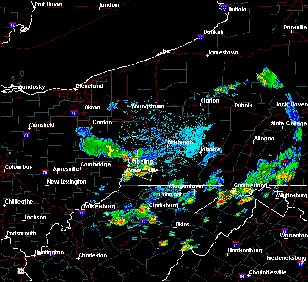 Radar Image for Severe Thunderstorms near Rogersville, PA at 9/6/2018 4:33 PM EDT