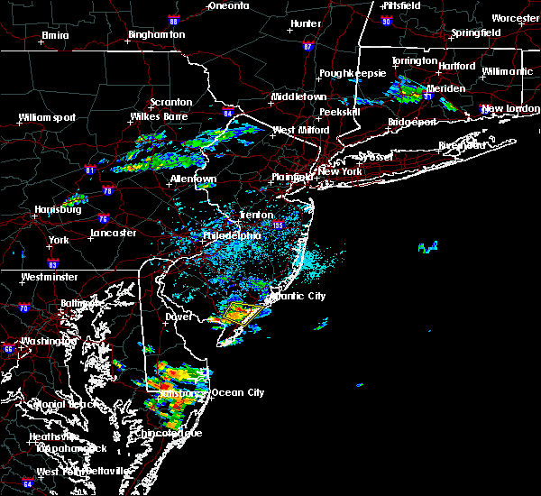 Radar Image for Severe Thunderstorms near Sea Isle City, NJ at 9/7/2018 2:38 PM EDT