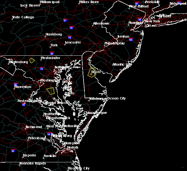 Radar Image for Severe Thunderstorms near Dover, DE at 9/7/2018 5:09 PM EDT