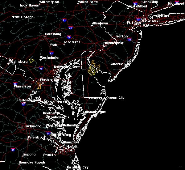 Radar Image for Severe Thunderstorms near Dover, DE at 9/7/2018 5:30 PM EDT