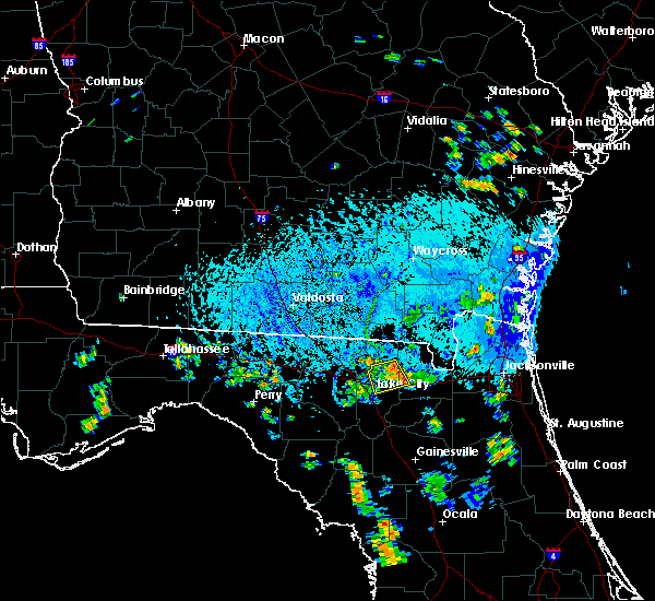 Radar Image for Severe Thunderstorms near Lake City, FL at 9/8/2018 5:50 PM EDT