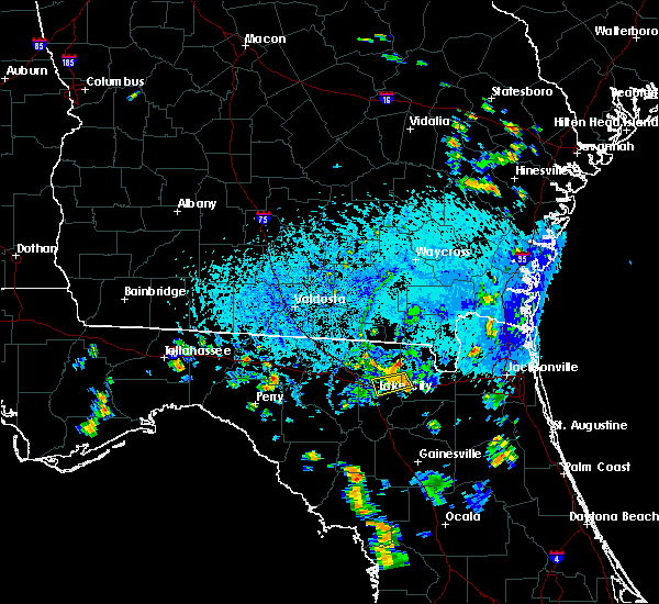 Radar Image for Severe Thunderstorms near Lake City, FL at 9/8/2018 6:02 PM EDT