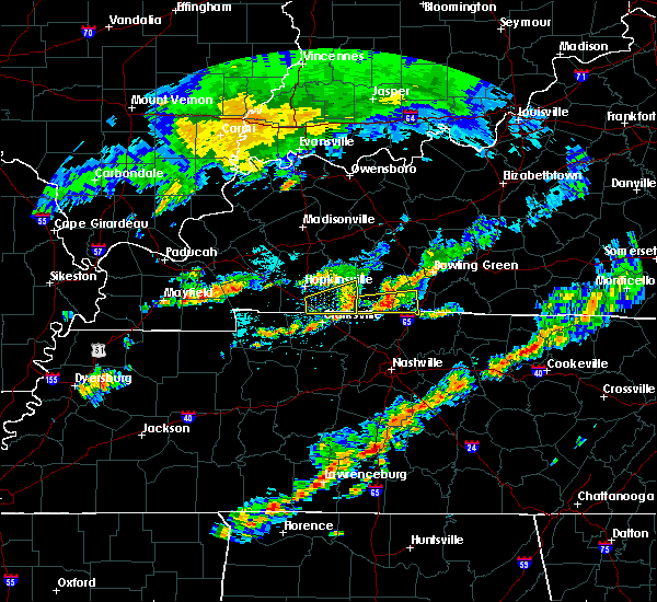 Radar Image for Severe Thunderstorms near Portland, TN at 6/8/2015 12:33 PM CDT