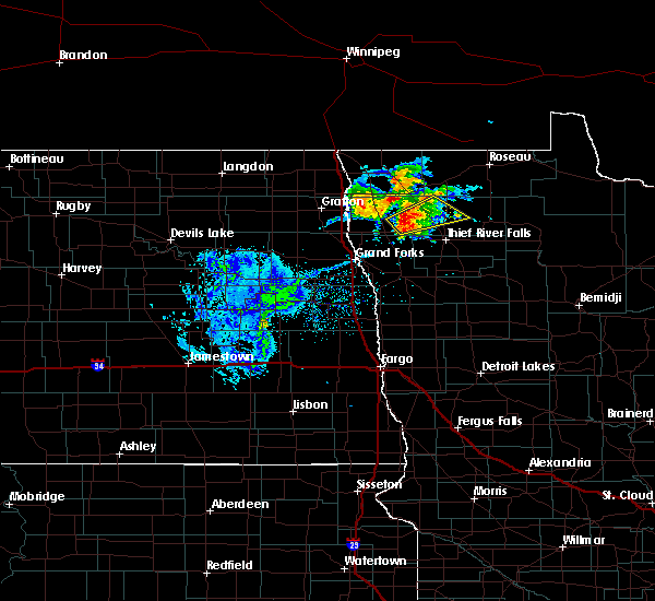 Radar Image for Severe Thunderstorms near Middle River, MN at 9/11/2018 7:00 PM CDT