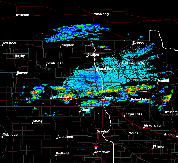 Radar Image for Severe Thunderstorms near Elbow Lake, MN at 9/14/2018 8:46 PM CDT