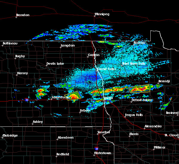Radar Image for Severe Thunderstorms near Elbow Lake, MN at 9/14/2018 9:01 PM CDT