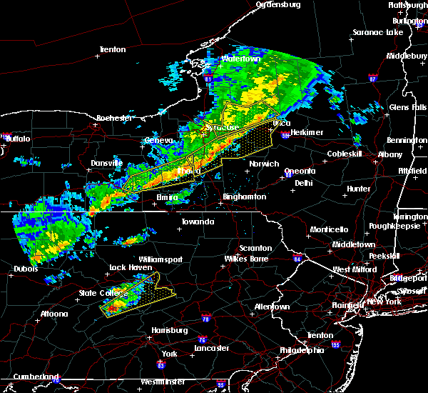 Radar Image for Severe Thunderstorms near Waterville, NY at 6/8/2015 2:12 PM EDT