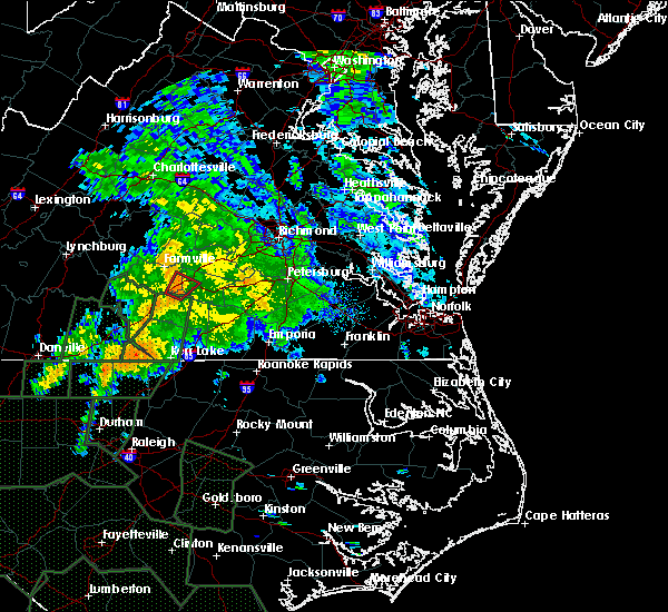 Radar Image for Severe Thunderstorms near Burkeville, VA at 9/17/2018 10:15 AM EDT