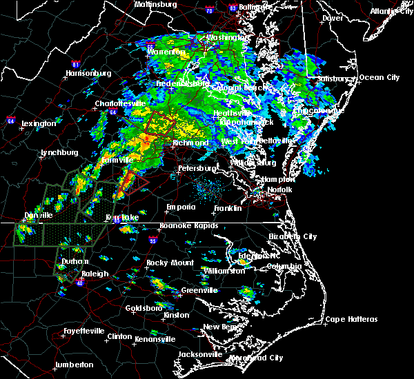 Radar Image for Severe Thunderstorms near Wyndham, VA at 9/17/2018 1:46 PM EDT