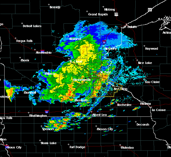 Radar Image for Severe Thunderstorms near Faribault, MN at 9/17/2018 2:35 PM CDT