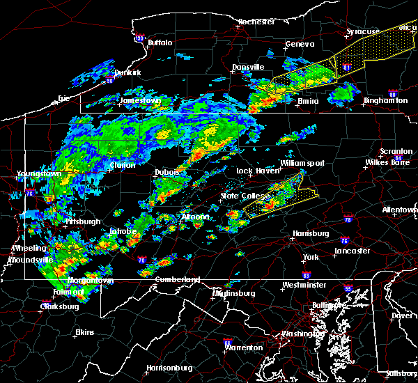 Radar Image for Severe Thunderstorms near Liberty, PA at 6/8/2015 2:38 PM EDT