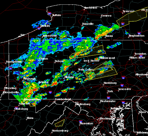 Radar Image for Severe Thunderstorms near Dunlo, PA at 6/8/2015 2:47 PM EDT