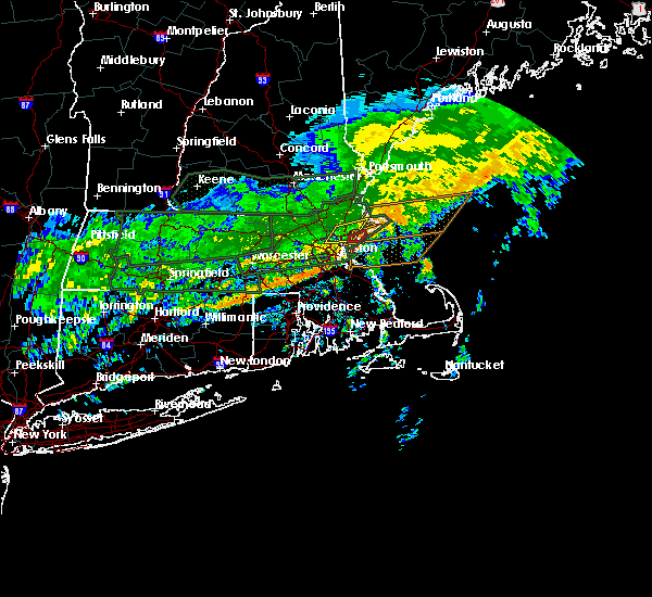 Radar Image for Severe Thunderstorms near Beverly, MA at 9/18/2018 11:14 AM EDT