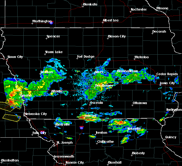 Radar Image for Severe Thunderstorms near Pleasanton, IA at 9/18/2018 4:24 PM CDT