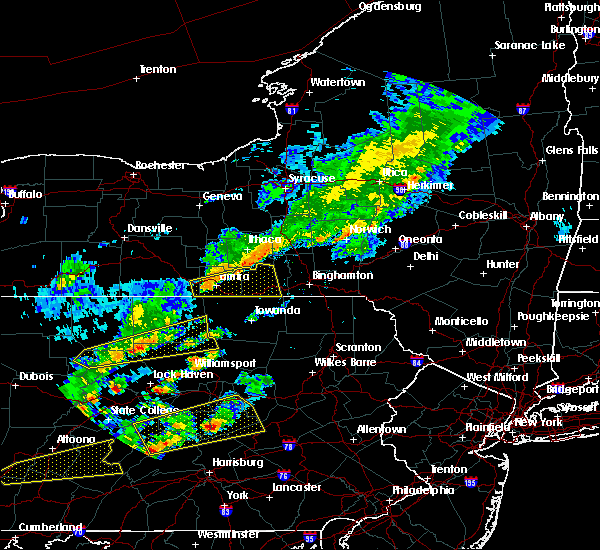 Radar Image for Severe Thunderstorms near West Elmira, NY at 6/8/2015 3:06 PM EDT