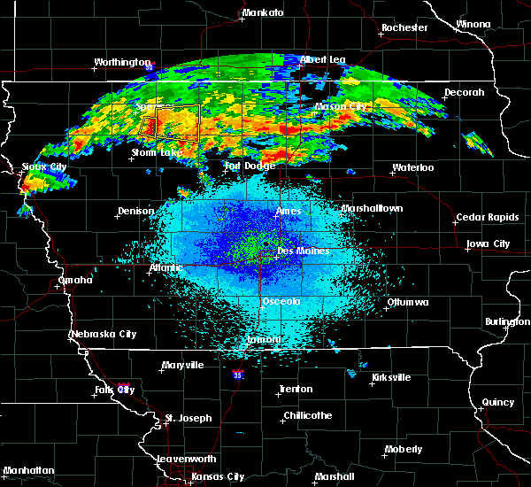 Radar Image for Severe Thunderstorms near Ayrshire, IA at 9/19/2018 8:54 PM CDT