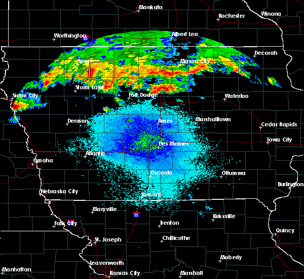 Radar Image for Severe Thunderstorms near Ayrshire, IA at 9/19/2018 9:00 PM CDT