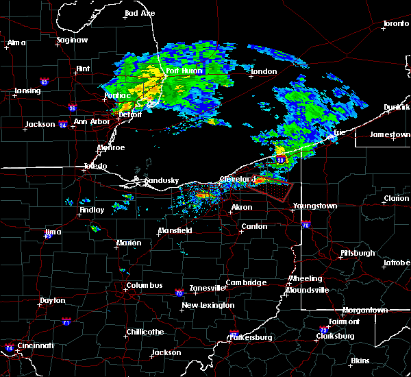 Radar Image for Severe Thunderstorms near Cortland, OH at 9/20/2018 2:21 PM EDT
