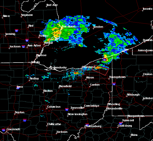 Radar Image for Severe Thunderstorms near Broadview Heights, OH at 9/20/2018 2:29 PM EDT