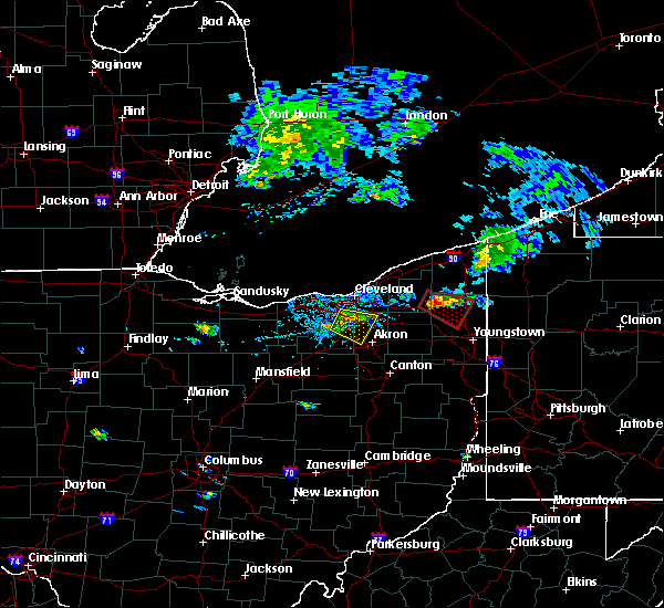 Radar Image for Severe Thunderstorms near Richfield, OH at 9/20/2018 2:54 PM EDT
