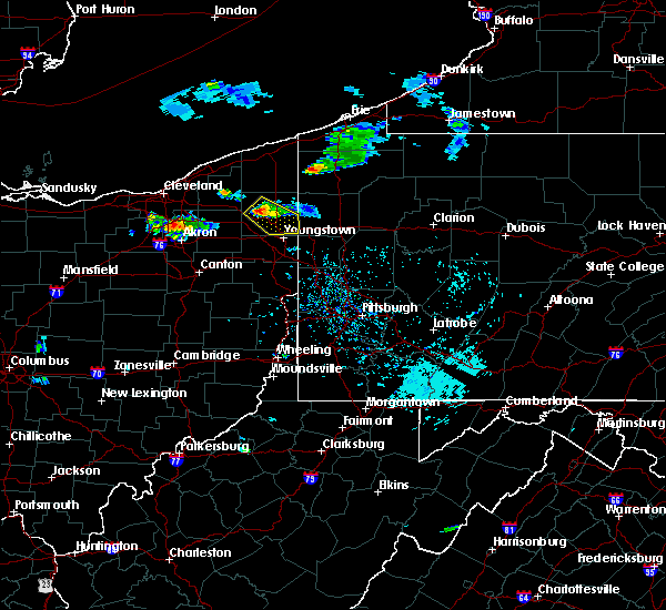 Radar Image for Severe Thunderstorms near Cortland, OH at 9/20/2018 3:33 PM EDT