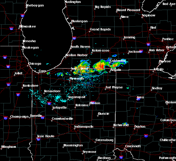Radar Image for Severe Thunderstorms near Dunlap, IN at 9/20/2018 5:40 PM EDT
